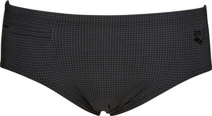 ARENA Herren Badehose Slip mit Reißverschluss Microprinted