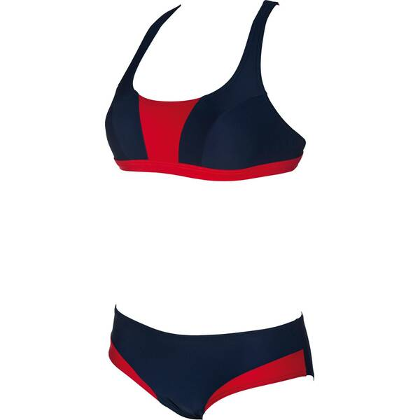 ARENA Damen Bikini Sporty Crossed Top