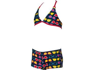 ARENA Mädchen Neckholder Bikini Sunglasses Blau