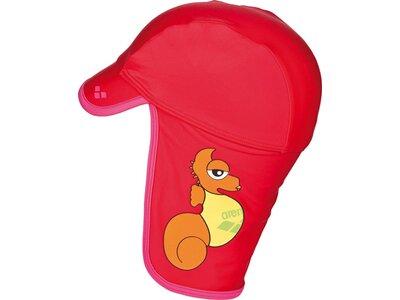 ARENA Kinder Sonnenschutz Hut Rot