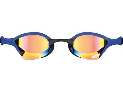ARENA Wettkampf Schwimmbrille Cobra Ultra Mirror Gelb