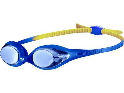ARENA Kinder Schwimmbrille Spider Junior Mirror Blau