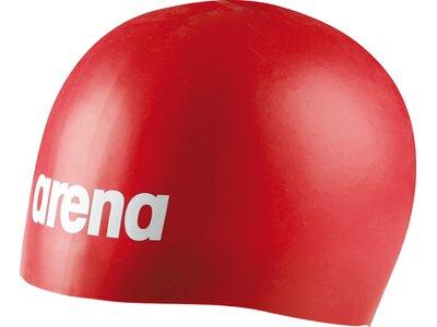ARENA Wettkampf Badekappe Moulded Pro Rot
