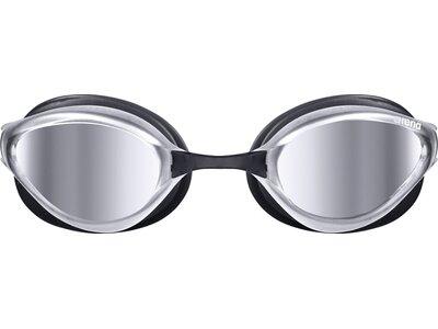 ARENA Wettkampf Schwimmbrille Python Mirror Silber