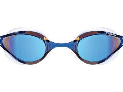 ARENA Wettkampf Schwimmbrille Python Mirror Blau