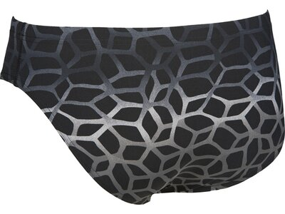 ARENA Herren Trainings Badehose Slip Polycarbonite II Schwarz