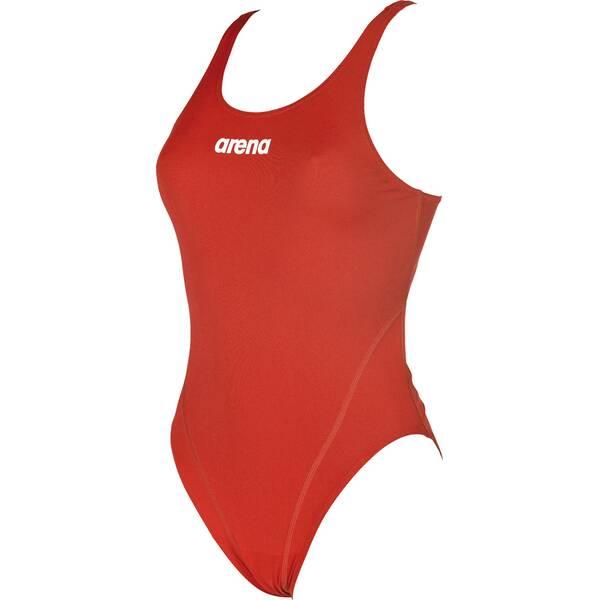 ARENA Damen Sport Badeanzug Solid Swim Tech High