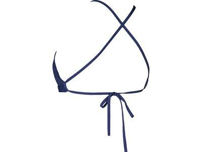 ARENA Damen Trainings Bikinioberteil Solid Blau