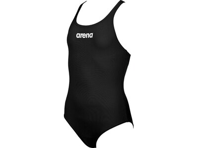 ARENA Mädchen Sport Badeanzug Solid Swim Pro Schwarz