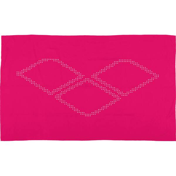 ARENA Microfaser Handtuch groß Halo Pink