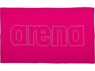 ARENA Microfaser Handtuch klein Haiti Pink