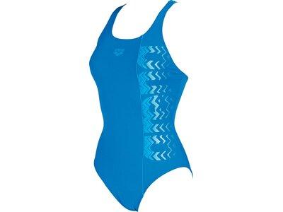 ARENA Damen Sport Badeanzug Floater Blau