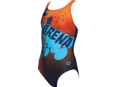 ARENA Mädchen Sport Badeanzug Takeover Blau