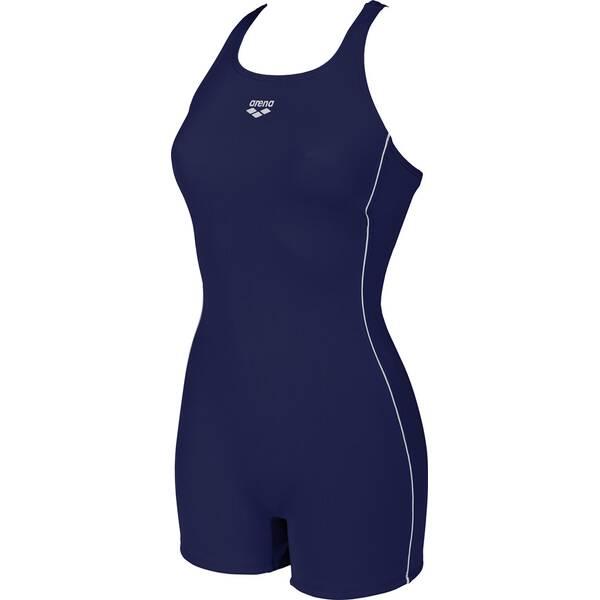 ARENA Damen Sport Badeanzug mit Bein Finding