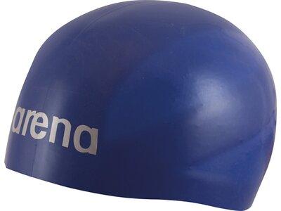 ARENA Wettkampf Badekappe 3D Ultra Blau