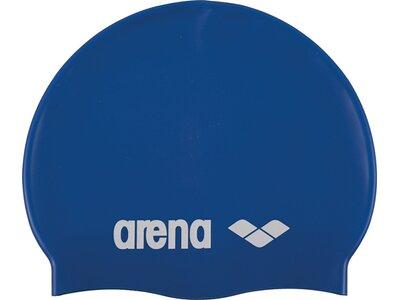 ARENA Kinder Badekappe Classic Silikon Junior Blau