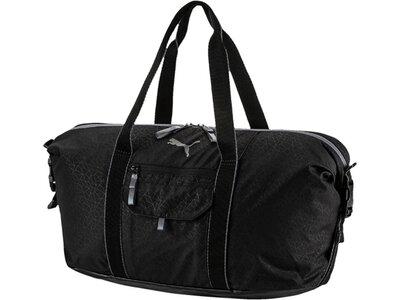 PUMA Damen Sporttasche Fit AT Workout Bag Schwarz