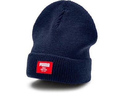 PUMA Mütze Ribbed classic beanie Blau