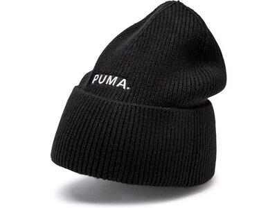 PUMA Damen Mütze Hybrid Fit Trend Beanie Schwarz