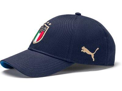 PUMA Herren FIGC Team Cap Blau