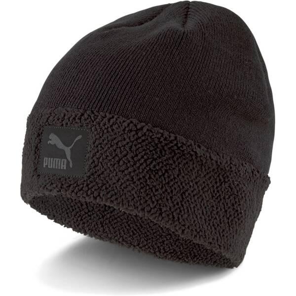 PUMA Herren Classic Cuff Sherpa Beanie