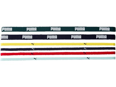 PUMA Damen Sportbands AT Sportbands (6pcs) Grau