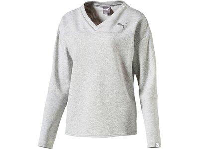 PUMA Damen Sweatshirt Swagger Grau