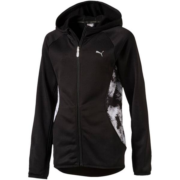 PUMA Kinder Sweatshirt Active AOP Hooded Jkt G