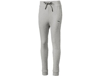 PUMA Kinder Hose SPORTSTYLE Sweat Pants G Silber