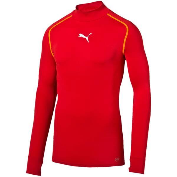 Puma Herren T-Shirt TB_L/S Tee Warm