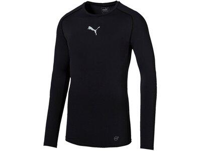 Puma Herren T-Shirt TB_L/S Tee Schwarz