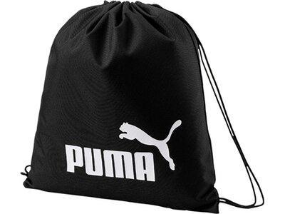 PUMA Turnbeutel PUMA Phase Gym Sack Schwarz