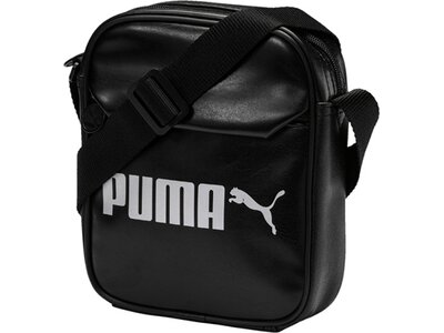 PUMA Sporttasche Campus Portable PU Schwarz