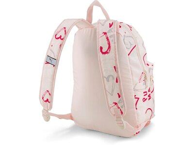 PUMA Kinder Rucksack Phase Small Backpack Silber