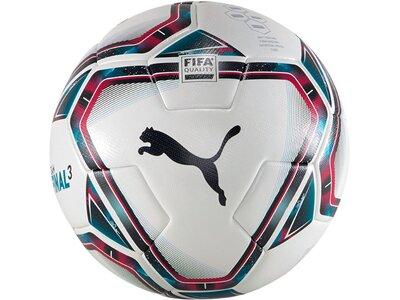 PUMA Equipment - Fußbälle teamFINAL 21.3. FIFA Trainingsball Gr.5 Grau