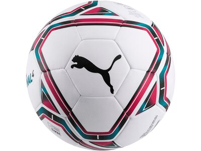 PUMA Equipment - Fußbälle teamFINAL 21.4. IMS Hybrid Ball Gr. 5 Weiß