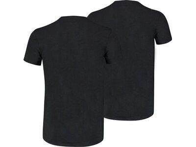 PUMA Basic Herren Crew Neck T-Shirt 2er-Pack Schwarz