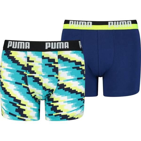 PUMA Glitch Kinder-Boxershorts 2er-Pack