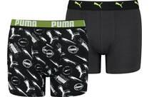 Vorschau: PUMA Alpha Print Kinder-Boxershorts 2er-Pack