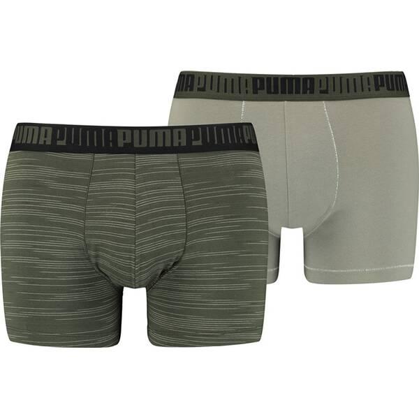 PUMA Spacedye Stripe Herren-Boxershorts 2er-Pack