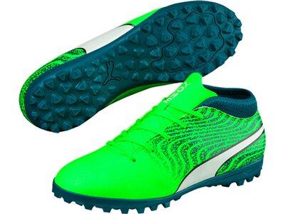 Puma Kinder Fußballschuhe ONE 18.4 TT Grün