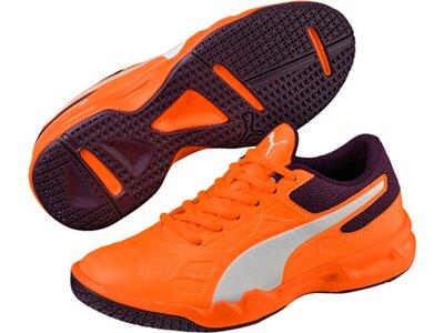 PUMA Kinder Indoorschuhe Tenaz Orange