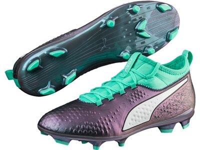 PUMA Fußball - Schuhe - Nocken ONE 3 IL FG Grau