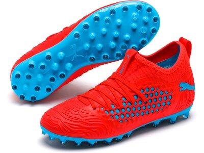 PUMA Kinder Fußballschuhe FUTURE 19.3 NETFIT MG Jr Rot