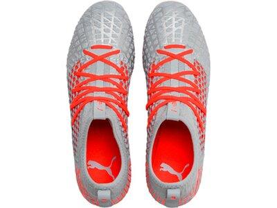 PUMA Fußball - Schuhe - Nocken FUTURE RUSH 4.3 NETFIT FG/AG Grau