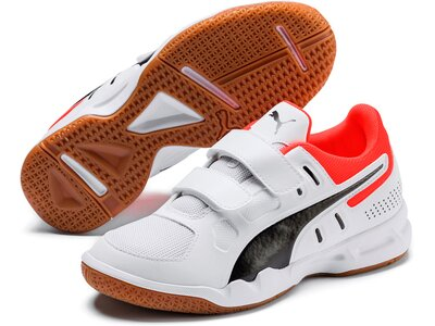 PUMA Kinder Trainingsschuhe Auriz V Jr Grau