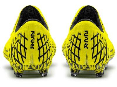 PUMA Fußball - Schuhe - Nocken FUTURE RUSH 4.1 NETFIT Low FG/AG Schwarz
