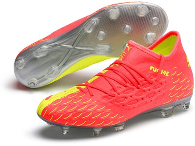 PUMA Herren Fußballschuhe FUTURE 5.3 NETFIT OSG FG/A Pink