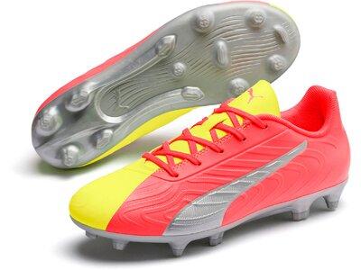 PUMA Kinder Fußball-Rasenschuhe ONE 20.4 OSG FG/AG Pink