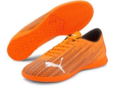 PUMA Herren Fussball-Hallenschuhe ULTRA 4.1 IT Orange